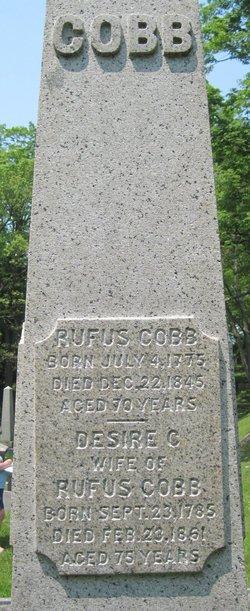 Rufus Cobb