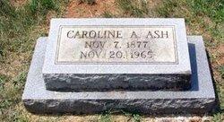 Caroline A Ash