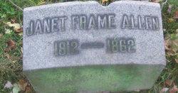 Janet Marsh <i>Frame</i> Allen