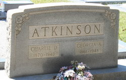 Georgia Ann <i>Sparks</i> Atkinson