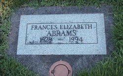 Frances Elizabeth <i>Hughes</i> Abrams