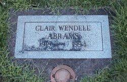 Clair Wendell Abrams