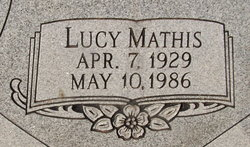 Lucy <i>Mathis</i> Dildy