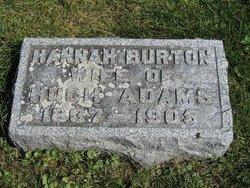Hannah <i>Burton</i> Adams