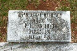 Susan Alline <i>Matheson</i> Anderson
