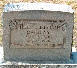 Liddie Elizabeth Mathews