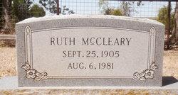 Ruth <i>Williams</i> McCleary