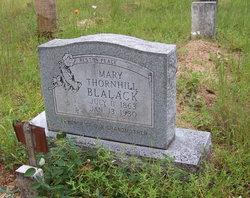 Mary A <i>Thornhill</i> Blalack