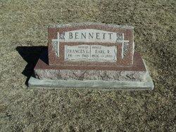 Frances Louisa <i>Thomas</i> Bennett