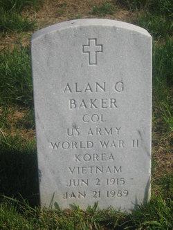 Alan G Baker