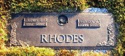 Edwina <i>Chisolm</i> Rhodes