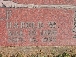 Harold Wilmer Adolf