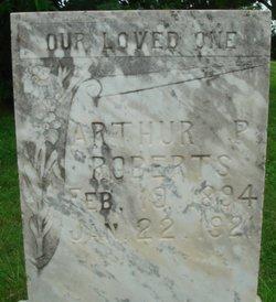 Arthur P Roberts