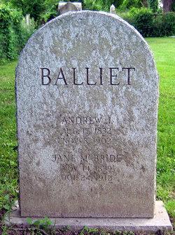 Jane <i>McBride</i> Balliet