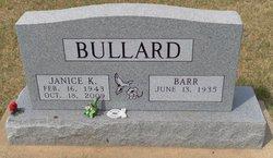 Janice K. <i>Hawkins</i> Bullard