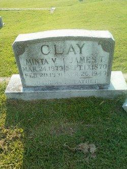 Minta Violet <i>Hubbard</i> Clay
