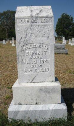 Mary Elizabeth <i>Pitts</i> Barrett