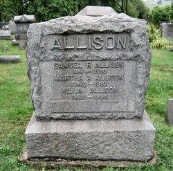 Martha A. <i>Johnston</i> Allison