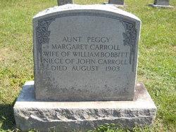 Aunt Peggy Margaret Carroll Bobbitt