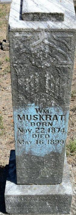 William Muskrat