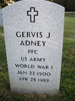 Gervis Jefferson Adney