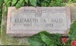 Elizabeth A. <i>Roahrig</i> Balo