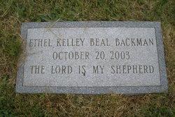 Ethel Kelley <i>Beal</i> Backman