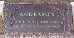 Esther Adelia <i>Jensen</i> Anderson