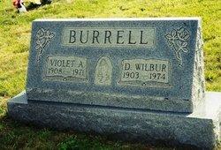 Violet A. <i>Goller</i> Burrell