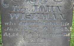 Rev John Wiseman