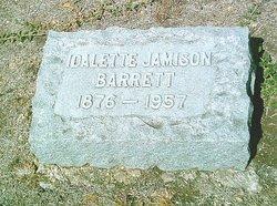 Idalette <i>Jamison</i> Barrett