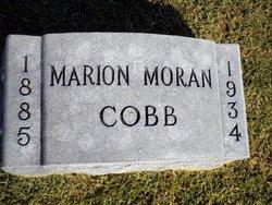 Marion Agnes <i>Moran</i> Cobb