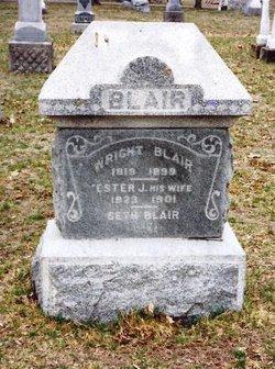 Esther Jane <i>Prindle</i> Blair