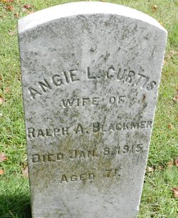 Angie L <i>Curtis</i> Blackmer