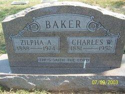 Zilpha A. Baker
