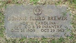 Pvt Lonnie Elurd Brewer