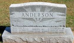 Georgia M <i>Fletcher</i> Anderson