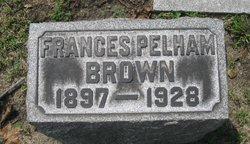 Frances <i>Pelham</i> Brown