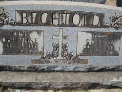 Christine <i>Scheel</i> Bechtold