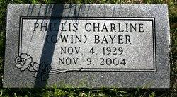 Phillis Charline <i>Gwin</i> Bayer