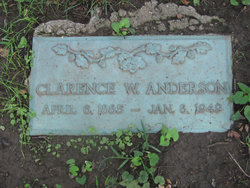 Clarence W Anderson