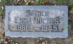 Emma Margaret <i>Jones</i> Holmes