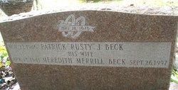 Meredith <i>Merrill</i> Beck