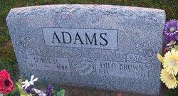 Theo Brown Adams