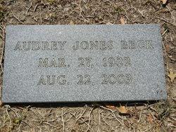 Audrey Louise <i>Jones</i> Beck