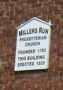 Millers Run Presbyterian Cemetery