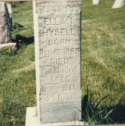 Ellen Isobel Ella <i>Powers</i> Hysell
