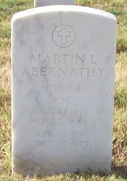 Martin L Abernathy