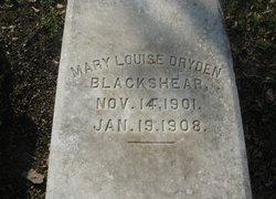 Mary Louise Dryden Blackshear