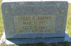 Ethel C. Brown